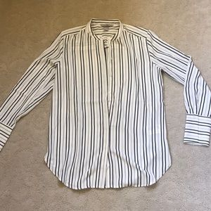 Striped Long Sleeve Button Down